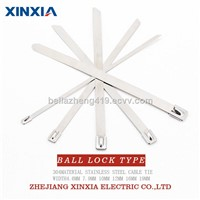 304 Naked Stainless Steel Cable Tie Ball Lock Type