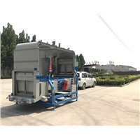Sesame Cleaner Sorting Machine Cleaning Machine Precleaner Air Screen Cleaner Double Air Screen Sesame Processing Machi