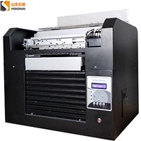 HONZHAN HZ-UVA3-6C Digital UV LED Flatbed Printer 28*60cm with 6 Inks Colors