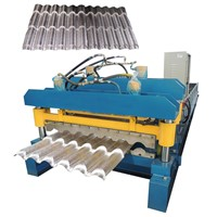 Hot Sale Roof Sheet Roofing Tile Metal Sheet Making Roll Forming Machine