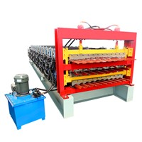 New Design Corrugated Roofing Sandwich Panel Sheet Machine