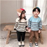 Manufacturer Custom Design Factory Knitwear Toddler Pullover Popular Children Girls Boys Sweater