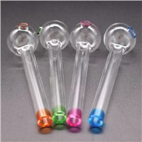 Thick Glass Pipe Oil Colorful Pipe Mini Smoking Hand Pipes