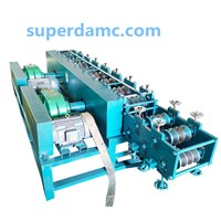 Steel Shaped Tube Roll Forming Machine Production Lline