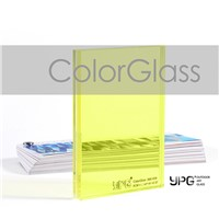 ColorGlass3881838 5CBT+1.14PVB+5CBT Building Safetyglass Toughened Laminated Outdoor Art Glass