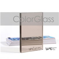 ColorGlass3883538 4CBHS+1.14PVB+4CBHS Building Safetyglass Toughened Laminated Outdoor Art Glass