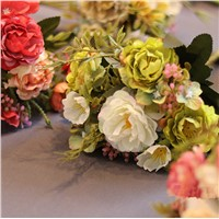 Artificial Flower Home Decoration China Peony Flower Bunch