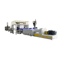 SPC Board / Sheet Extrusion Line Stone Plastic Flooring Machine