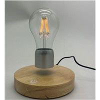 PA-8841 New Round Base Magnetic Levitation Table Lamp Bulb Light