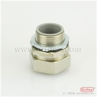 Nickel Plated Brass Straight Connector
