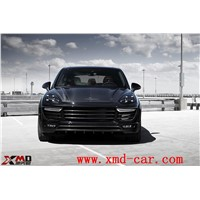 Carbon Fiber Body Kit Bumper Lip Chin Spolier Hood Engine Cover Bonner Grille Fender for Porsche Cayenne 9Y0