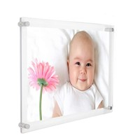 Factory Direct Acrylic Photo Frames Custom Transparent Acrylic Picture Frames
