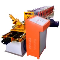 Full Automatic Metal Light Steel Keel Shutter Door Steel Frame Roll Forming Machine