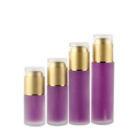 Fashionable Packaging Cosmetic Empty Round Bottle Set