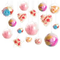 Hot Selling Hanging Decoration Transparent Christmas Ball Decoration