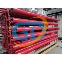 Twin Wall Steamless Concrete Pump Pipe Straight Pipes Wear-Resisting Pipe