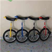 Kid Unicycles with Different Sizes