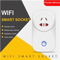 Mobile Phone App Control Supported Eu Uk Us Standard Wireless WiFi Smart Electrical Power Plug Socket for Home
