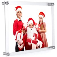Factory Price High Quality Custom Clear Desktop Plexiglass Acrylic Photo Picture Frame