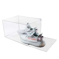 Hot Selling Luxury Custom Clear Zapatos Acrylic Shoe Box Fast Delivery