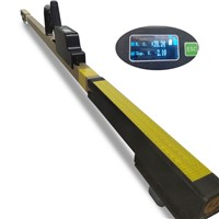 Digital Track Gauge for Meausring Rail Gauge Superelevation Checkrail