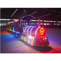 Electric Mall Trains Trackless Suitable for Shopping Mall