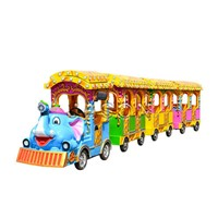 Electric Trackless Train | Track Tourist Train for Sale