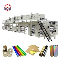 Multi Functional High Speed Coating Laminating Machine for Adhesive Tape, Paper, Film, Non-Woven Fabric, Aluminum Foil