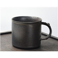 Globe Faith Eco-Friendly Ceramic Insulated Coffee Mug,