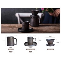 Globe Faith Eco-Friendly Pour over Coffee Maker Drip & Coffee Cup Set,