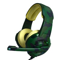 Stereo Strong Bass Sound USB Camouflage Best Gaming Headset
