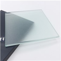 12mm Clear Tempered Frosted Shower Door Glass