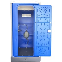 Chemical Resist Bagni Mobili with Assembly Urinal Portable HDPE Plastic Urinal Room DOS-861