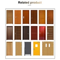 Panel Design Solid Wood Door Bedroom Painting Door S15112