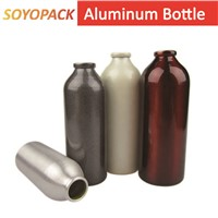 Aluminum Bottle(Screw Neck) with Screw Top Cap