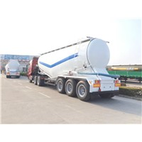 3 Axles 40m3 Bulk Cement Tank Semi Trailer with Air Compressor