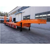Fuwa Axle Low Bed Semi Trailer Max. Loading 50-60ton Tyre 12.00R20