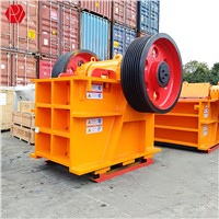 PE-400X600 PE-500x750 PE-600x900 Stone Crushing Jaw Crusher for Primary Granite Crusher Machine Price