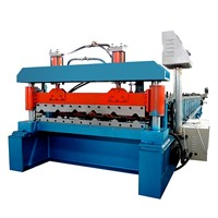 Full Automatic Iron Steel Metal Used Corrugated Roof Sheet Tile Making Machine