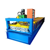 China Corrugated Iron Sheet Roofing Tile Making Roll Forming Machine