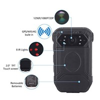ONETHINGCAM 4G Body Camera 2 Inch Touch Screen Android 5.1 System Night Vision up To 15M