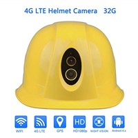 ONETHINGCAM 4G Security Helmet HD1080P 125 Degree Angle Lens Smart Helmet Android5.1 System