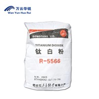 Titanium Dioxide R-5566 White Pigment Powder Rutile Type Tio2 Industrial Grade for Paint
