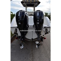 USED PAIR MERCURY 150HP 4-STROKE OUTBOARD MOTOR