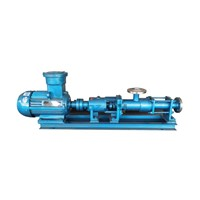 Screw Pump Which Can Be Feed Centrifuge