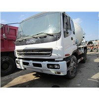 Used Concrete Mixer ISUZU Diesel Concrete Mixer Truck for Sale