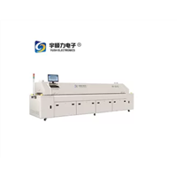 3 Phase Solder Reflow Oven / Lead Free Hot Air PCB Reflow Oven