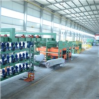 Steel Cord Conveyor Belt Making Line, Belts Plate Vulcanzing Press