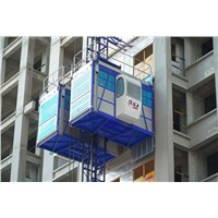 CE Approved Sc200/200 Construction Hoist / Construction Lift Building Hoist