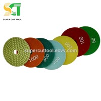 Flexible Polishing Pad Porcelain for Hand Saw - Long Life Polishing Pads for Quartz Hard Granite Marble Grinding